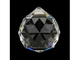 FENG SHUI kristallripats - läbipaistev kristallkuul 50 mm - VIIMASED